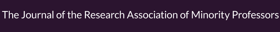 The Journal of the Research Association of Minority Professors