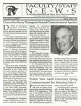 Faculty & Staff News - April-May 1999