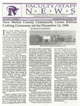 Faculty & Staff News - December 1998-January 1999 by Prairie View A&M University