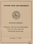 Executive Summary - November 17, 1986 by Prairie View A&M University