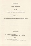 Department of Fiscal Regulations - Nov 30th, 1961 by Prairie View A&M University