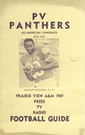 Football Media Guide- 1969 by Prairie View A&M College