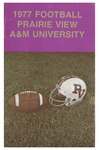 Football Media Guide- 1977 by Prairie View A&M University