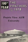 Football Media Guide- 1978 by Prairie View A&M University