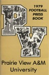 Football Media Guide- 1979 by Prairie View A&M University