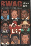 SWAC Football Media Guide - 1984 by Prairie View A&M University