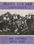 Football Media Guide- 1993 by Prairie View A&M University