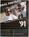 SWAC Football Media Guide- 1991 by Prairie View A&M University