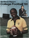 Football Media Guide- SID Black Report 1986