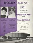 Nov 6, 1971- Prairie View A&M vs Texas Lutheran