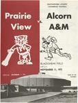 Nov 11, 1972- Prairie View A & M vs Alcorn (Miss.) A&M