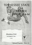 Nov 19, 1960- Prairie View A&M vs Tennessee State