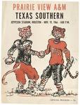 Nov 19, 1966- Prairie View vs Texas Southern