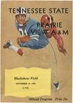 Nov 19th 1960- Prairie View A&M vs Tennessee State