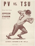 Nov 23, 1968- Prairie View A&M vs Texas Southern