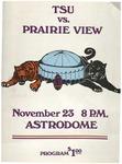 Nov 23rd 1975- Prairie View A&M  vs Texas Southern