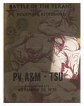 Nov 26, 1970- Prairie View A&M vs Texas Southern