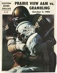 Oct 2, 1982, Prairie View A&M vs Grambling University