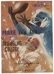 Oct 5, 1968- Prairie View A&M vs Grambling College