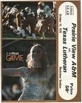 Oct 14,1978- Prairie View A&M vs Texas Lutheran