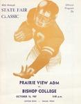 Oct 16, 1967- Prairie View A&M vs Bishop College