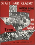 Oct 16, 1971- Prairie View A&M vs Tennessee State University