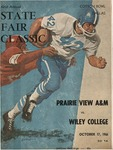 Oct 17,1966- Prairie View A&M vs Wiley College