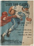 Oct 19, 1964- Prairie View A&M vs Wiley College