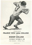 Oct 19, 1968- Prairie View A&M vs Bishop College