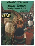 Oct 25th 1975- Prairie View A&M vs Bishop College