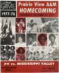 Oct 27, 1977- Prairie View A&M vs Mississippi Valley