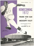 Oct 28 1972- Prairie View A&M vs Mississippi Valley