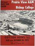 Oct 30 1973- Prairie View A&M vs Bishop College