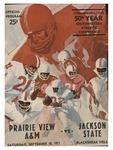 Sep 18, 1972- Prairie View A&M -Jackson State