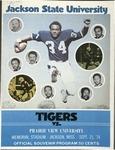 Sep 21 1974- Prairie View A&M - Jackson State University