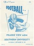 Sep 23, 1967- Prairie View A&M vs Southern University