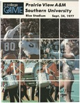 Sep 24, 1977- Prairie View A&M vs Southern University