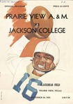 Sep 24, 1955- Prairie View A&M vs Jackson College