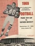 Sep 27, 1969- Prairie View A&M vs Southern University