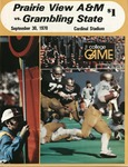 Sep 30, 1978- Prairie View A&M vs Grambling State