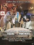 Aug 31, 2002 - Prairie View A&M vs Texas Southern by Prairie View A&M University