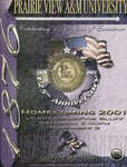 Nov 3, 2001 - Prairie View A&M vs Arkansas Pine Bluff by Prairie View A&M University