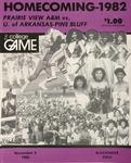 Nov 6, 1982 - Prairie View A&M vs Arkansas Pine Bluff