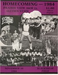 Nov 10, 1984 - Prairie View A&M vs Alcorn State