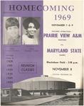 Nov 8, 1969 - Prairie View A&M vs Maryland State