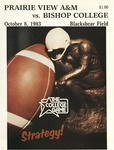 Oct 8, 1983 - Prairie View A&M vs Bishop College