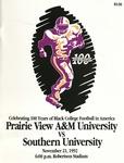 Nov 21, 1992 - Prairie View A&M vs Southern University