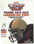 Oct 3, 1998- Prairie View A&M vs Grambling State by Prairie View A&M University