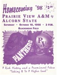 Oct 10, 1998 - Prairie View A&M vs Alcorn State by Prairie View A&M University