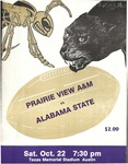 Oct 22, 1988- Prairie View A&M vs Alabama State